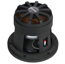 "2X 300 Watt Long Throw 6.5"" Monacor Raptor-6 Competition Kick Bass Subwoofers."