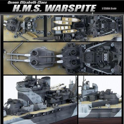 WARSPITE  Academy Model Kit B14105 1//350 Queen Elizabeth Class H.M.S