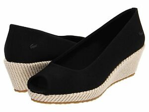 f02900f44239 Details about New Size 8.5   9 LACOSTE Womens Wedge Shoe! Reg 135  Sale 64.99 LastPairs!