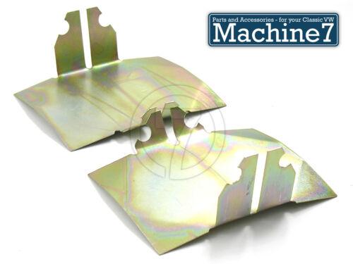 Classic VW Beetle Engine Tinware Lower Air Deflector Baffle Plates Kit Pair Bug