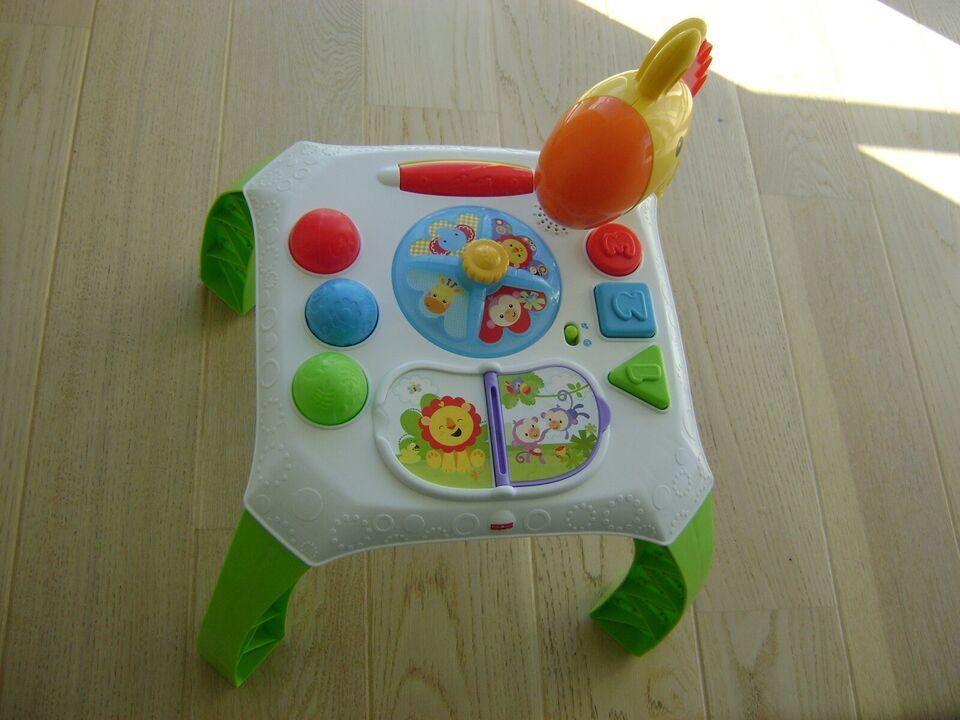 Babybord, Fisher Price, aktivitetslegetøj