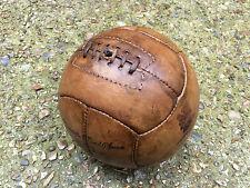 OH! così! sportivo! Noce Marrone REPRO VINTAGE ANNI 1920 stile calcio in pelle