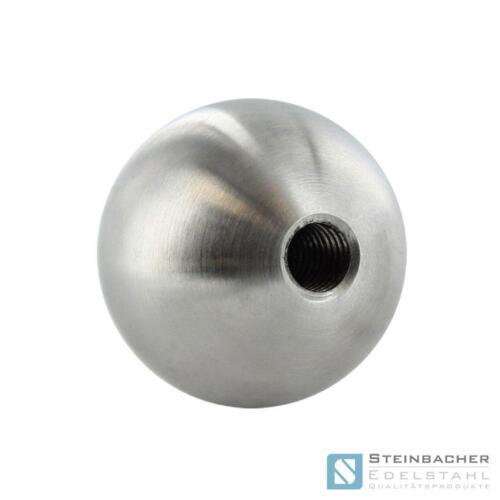 Edelstahl Kugel V2A Ø 15-500mm Gewinde Edelstahlkugel Vollkugel Hohlkugel