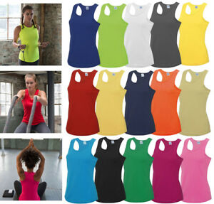 AWDis-LADIES-GIRLIE-COOL-VEST-BREATHABLE-FOR-SPORTS-WORKOUTS-RUNNING-XS-XL