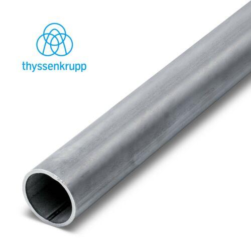 Rundrohr Edelstahl geschweißt Rohr Edelstahlrohr Konstruktionsrohr V2A 1.4301