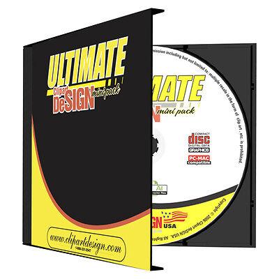 CLIPART DESIGN CD-VINYL CUTTER PLOTTER GRAPHICS-VECTOR CLIP ART-EPS IMAGES CD