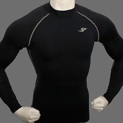 New 187 baselayer COMPRESSION skin tights top S~2XL sports shirt DarkBlue