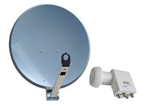 Sat-Spiegel-GIBERTINI-65-cm-ALU-mit-Quad-LNB-Full-HD-4-Teilnehmer-HQ