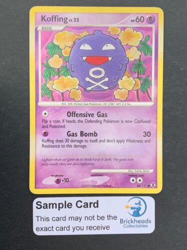 Koffing 68//111 CommonPlatinum Rising RivalsPokemon Card