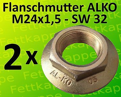 Flanschmutter M 24 x 1,5 ALKO