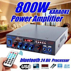 800W-Bluetooth-Stereo-Digitalverstaerker-Audio-Tuner-USB-SD-FM-AUX-Mikrofon-220V