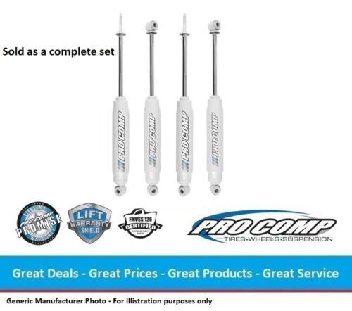 "0.0/"" FRONT//REAR 4WD Pro Comp ES9000 Series Nitro Shocks for 97-04 Dodge Dakota"