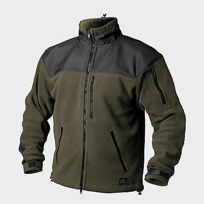 Helikon Tex Classic Army Outdoor Pile Giacca Jacket Verde Oliva/black Xl/xlarge-mostra Il Titolo Originale