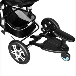 Details About Kids Buggy Board With Seat Toddler Child Wheeled Pushchair For Jogger Bugaboo