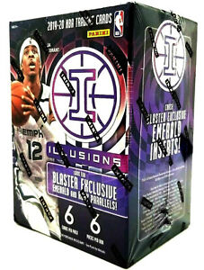 New 2019-2020 Panini Illusions NBA Basketball Blaster Box - JA, Herro, Zion?