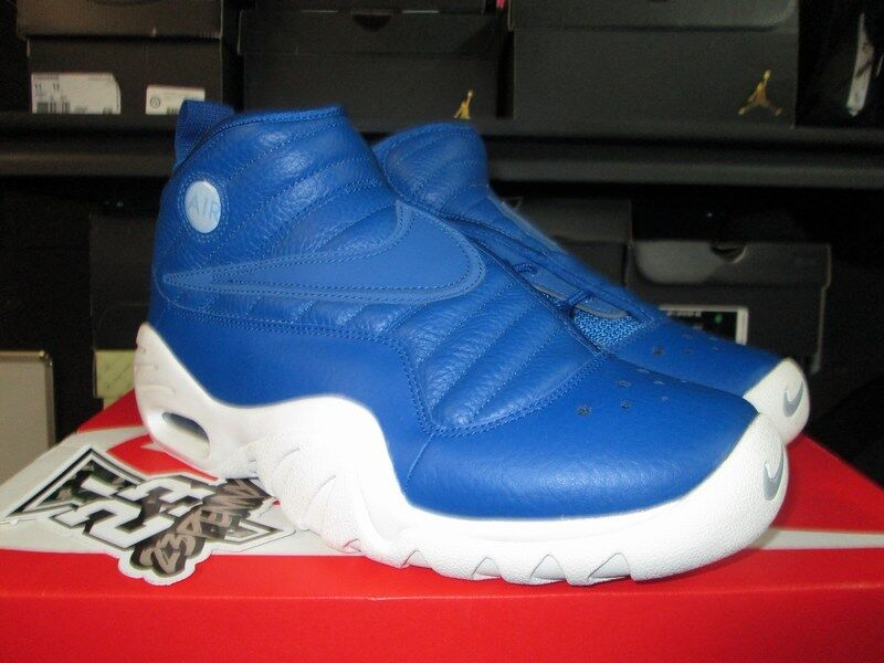 SALE NIKE AIR SHAKE NDESTRUKT 880869 401 BLUE JAY WHITE RODMAN DENNIS NEW