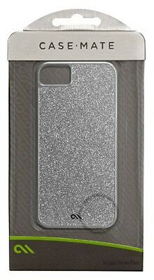 Case-Mate Glam Case for iPhone 5/5S - Retail Packaging - Silver
