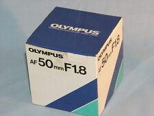 OLYMPUS AF 50mm F1.8 LENS OM-77AF OM-707 OM-101 OM-88 NEW IN BOX