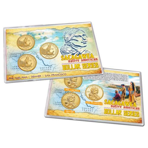 2013 Native American Sacagawea Dollar PDS Lens Uncirculated Proof Treaty w DE