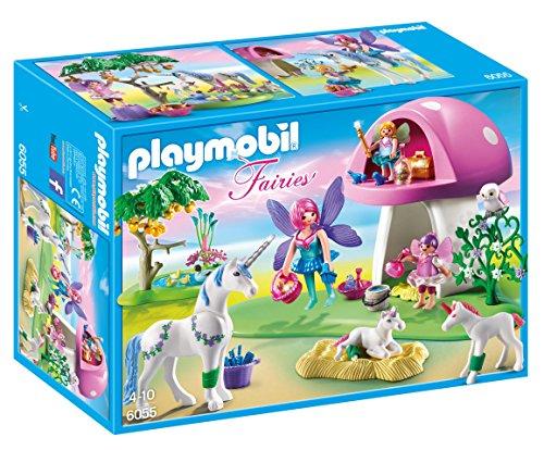 PLAYMOBIL Fairies with  Toadsstrumento House  vendita economica