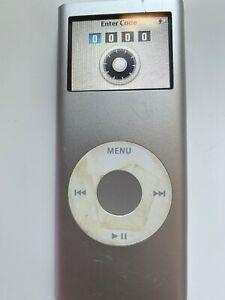Ipod Nano 2nd Gen 2 Gb Silver Locked A1199 Ebay