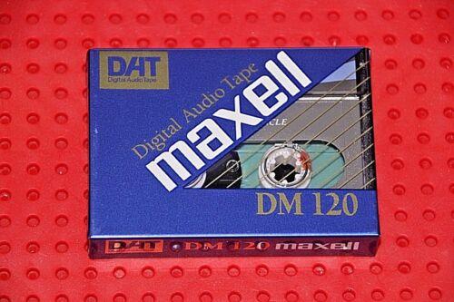 1 DAT  MAXELL    DM-120   DIGITAL AUDIO TAPE SEALED