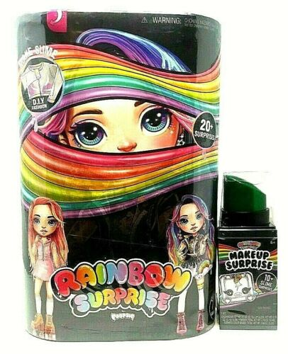 New Poopsie Rainbow Surprise Dolls Rainbow Dream or Pixie Rose+MakeUp Bundle