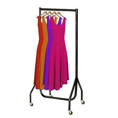 2ft Superior All Black CLOTHES GARMENT RAIL Stronger Than the Normal Frame 3076