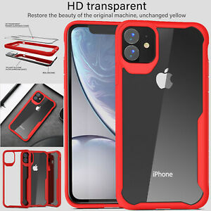 Case-For-Apple-iPhone-11-Pro-Max-Shockproof-Thin-Rubber-Bumper-Slim-Clear-Cover