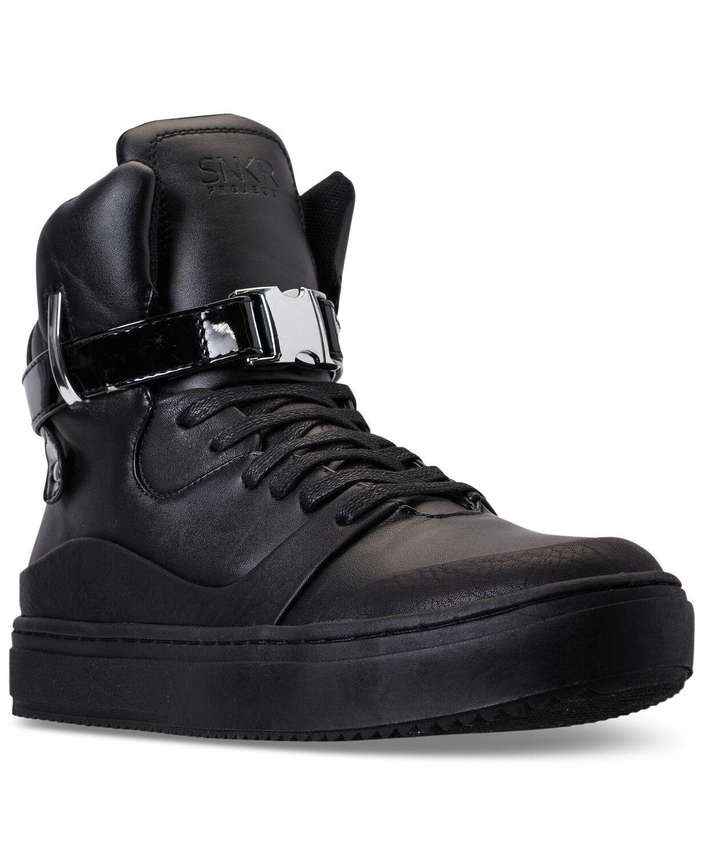 SNKR Project Men's Ballagio Casual Shoes Black