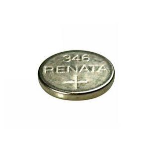 #346 (SR712SW) Renata Mercury Free Watch Batteries - Strip of 10