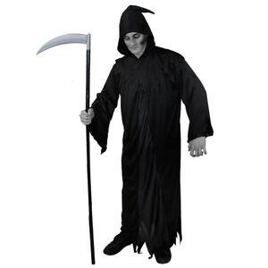 "Halloween Costume Accessories Plastic Grim Reaper Scythe 7/"" W x 44/"" L"