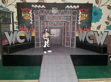 WCW Nitro entrance stage custom made for wrestling figures wwe/wwf/ecw