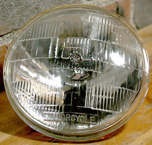 ge general electric 4467 5 3 4 12v sealed beam motorcycle headlight rh ebay com Boss Snow Plow Light Wiring Diagram Chopper Headlight Bulb Wiring-Diagram