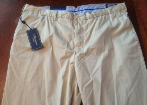 NWT Polo Ralph Lauren Classic Fit Lightweight Chino Khaki Suffield Pants 32Wx30L