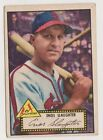 1952 Topps Black Back #65 Enos Slaughter - St. Louis Cardinals, Very Good - Ex!
