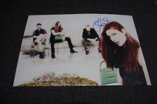 DELAIN Charlotte Wessels signed Autogramme auf 20x30 cm Foto InPerson LOOK