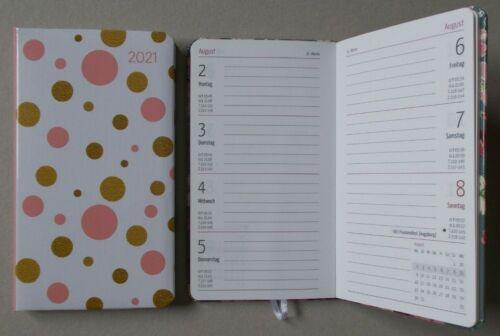 Auswahl 9x15,6 Taschenkalender auch Querformat Rosen Sterne Lam Ladytimer 2021