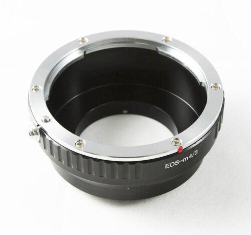 Canon EOS EF-S Objektiv adapter für Micro 4//3 kamera Olympus OM-D Panasonic GX8