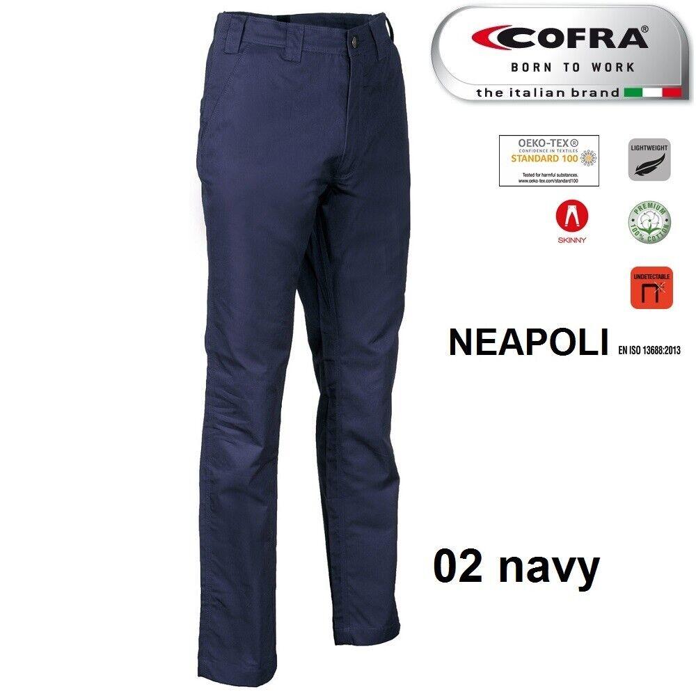 Immagine 7 - Pantaloni da lavoro COFRA modello NEAPOLI edilizia industria logist 100% cotone