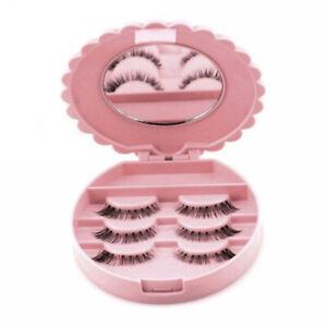 c1e88a859c3 Image is loading Mirror-Empty-False-Eyelash-Storage-Case-Box-Eyelashes-