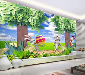 3D Animal Field 65 Wallpaper Murals Wall Print Wallpaper Mural AJ WALL UK Sidney