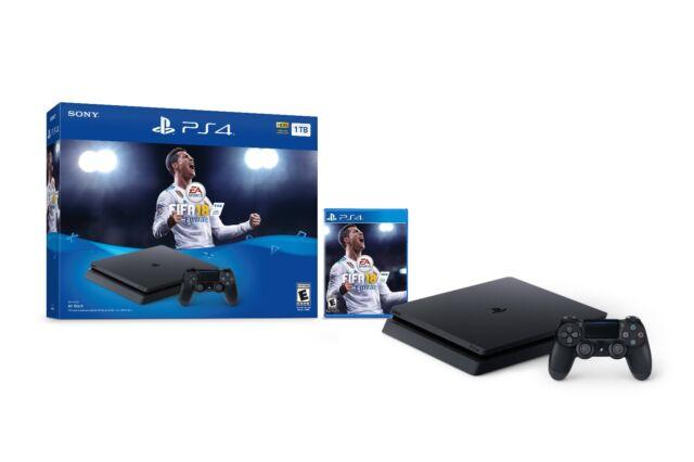 New Sony PlayStation 4 Slim 1TB FIFA 18 Ultimate Team Console Bundle