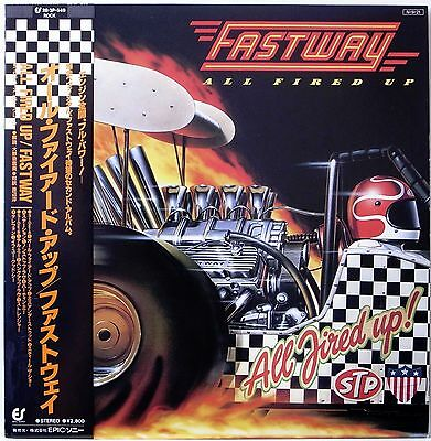 FASTWAY / ALL FIRED UP / HARD ROCK / EPIC / SONY JAPAN OBI