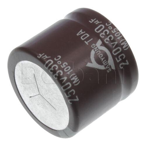 Polarized Electrolytic Capacitor 250V 330uF