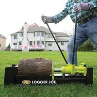 Powerful Log Splitter Wood Cutter Manual Yard Tools Firewood Trees Fuel 10 Ton