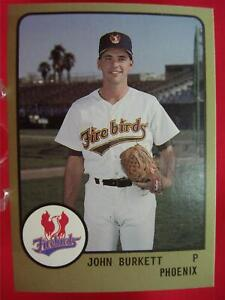 JOHN-BURKETT-1988-PROCARDS-76-MINOR-LEAGUE-PHOENIX-FIREBIRDS-13-CARD-LOT-L-K