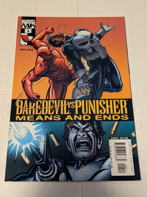 Daredevil Vs Punisher Means And Ends #4 November 2005 Marvel Comics