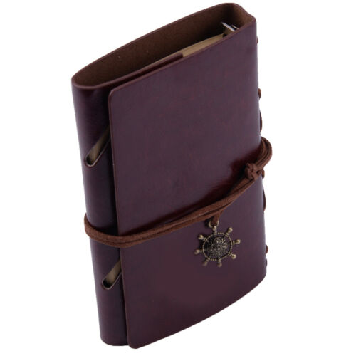 Vintage Style Sailing Portable Journal Notebook Travel Pocket Diary Sketchbook