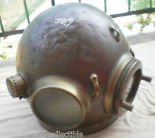 Old vintage English HEINKE Pearlier Diving Helmet, about 1900